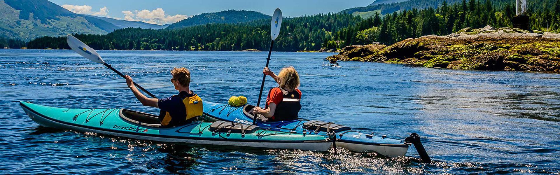 Outdoors Kayaking